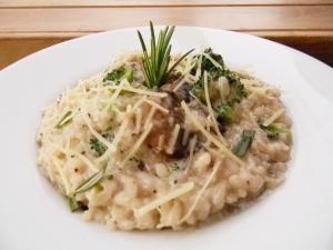 Rich Mushroom and Broccoli Creamy Rissoto