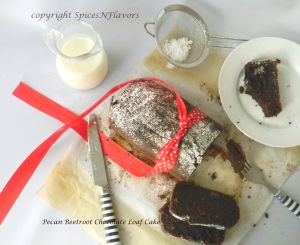 healthy|pecan|beetroot|chocolate|loaf|cake|spicesnflavors.com